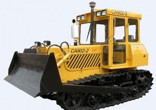 东方红CA902-2推土型拖拉机产品图图