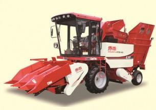 春雨4YZP-3X型自走式玉米收获机产品图图