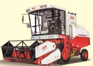春雨4LZ-5自走式谷物联合收割机产品图图