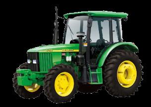 约翰迪尔5-754轮式拖拉机产品图图
