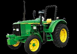 约翰迪尔5-850轮式拖拉机产品图图
