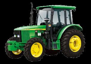 约翰迪尔5-854轮式拖拉机产品图图