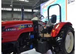 乐星LS1000-1拖拉机产品图图