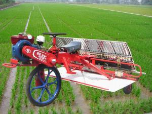 时风牌巧手系列乘坐式水稻插秧机产品图图(1/1)