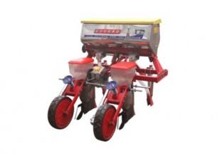 农哈哈2BYSF-2勺轮式玉米播种机产品图图