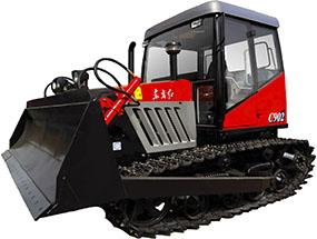 东方红C702-A/C802/C902履带式拖拉机产品图图