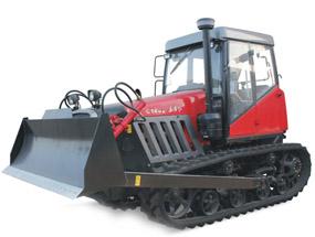 东方红C1402履带式拖拉机产品图图
