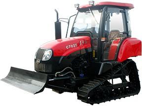 东方红C602S/C702S履带式拖拉机产品图图