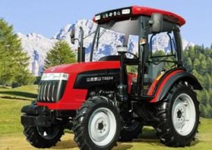 山拖农机TS650/TS654轮式拖拉机产品图图