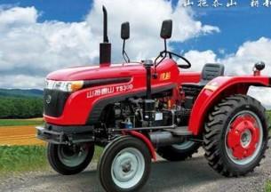 山拖农机TS250/TS254轮式拖拉机产品图图