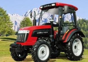 山拖农机TS550/TS554轮式拖拉机产品图图