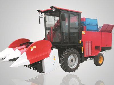 农哈哈4YZ-3B型玉米联合收获机产品图图(1/1)