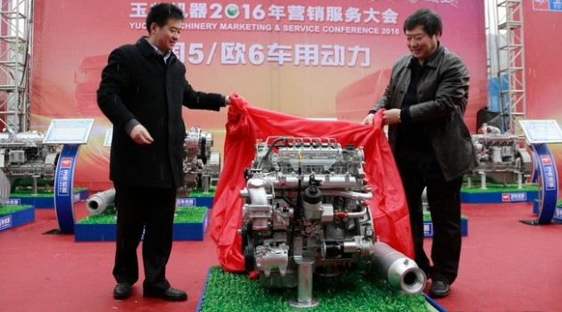 玉柴股份发布4款新品 国五全系列产品实现全面投放