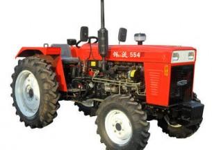 悍沃TN554轮式拖拉机产品图图