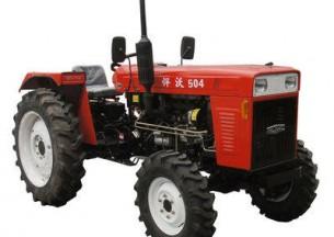悍沃TN504轮式拖拉机产品图图