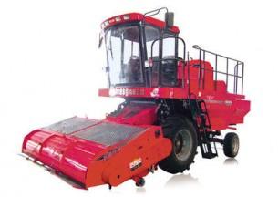 新疆牧神4KZ-275型自走式秸秆收获打捆机产品图图