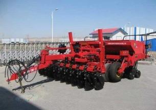 新疆牧神2BMF-24分体式免耕施肥播种机产品图图