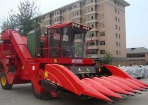 天人4YZ-6〔TR9988-6A〕自走式玉米收割机产品图图