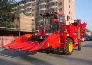 天人TR9988-4A玉米收割机产品图图
