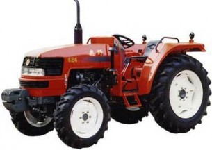 奥野654拖拉机产品图图