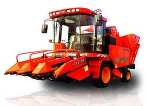 哈肯4YZ-3B自走式玉米收获机产品图图