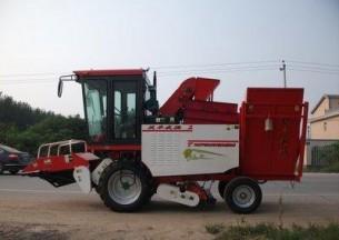河北沃丰4YH-2A1型玉米收获机产品图图