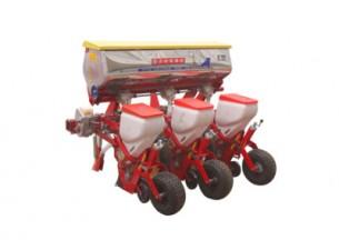 农哈哈2BYQF-3气吸式玉米播种机产品图图