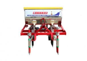 农哈哈2BYSFS-2仿形勺轮玉米播种机产品图图