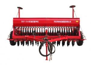 农哈哈2BXF-24小麦施肥播种机产品图图