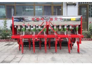 农哈哈2BXF-12J小麦圆盘播种机产品图图