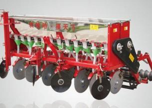 农哈哈2BXF-9小麦播种机产品图图