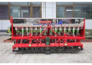农哈哈2BXF-14动力合墒小麦圆盘播种机产品图图