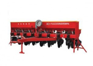 农哈哈2BFMY-8气压式玉米免耕施肥精量播种机产品图图
