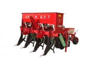 农哈哈2BMSQFY-4玉米免耕深松全层施肥精播机产品图图