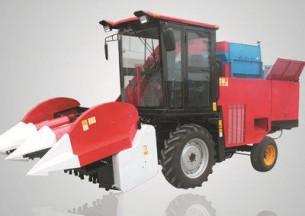 农哈哈4YZ-3B玉米收割机