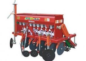 河北双印2BX-9型圆盘式小麦施肥播种机产品图图