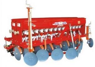 双印2BX-14型圆盘式小麦施肥播种机产品图图