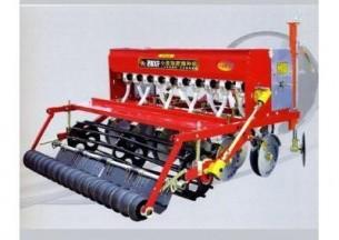 双印2BXF-10轴传动圆盘小麦施肥播种机产品图图
