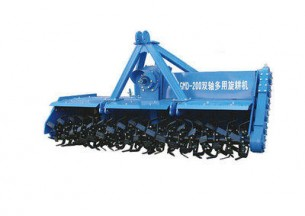 神耕1GMD-200型双轴多用旋耕机产品图图