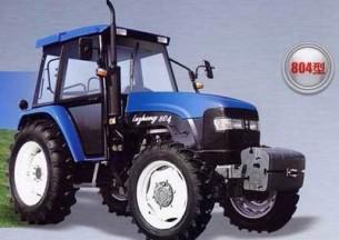 鲁中804拖拉机产品图图