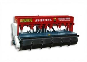山东奥龙2BXFS-270旋耕施肥播种机产品图图