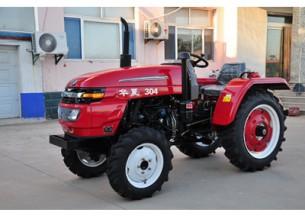 华夏304轮式拖拉机产品图图