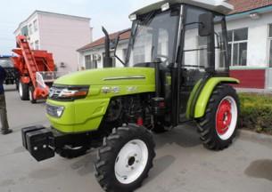 华夏354轮式拖拉机产品图图