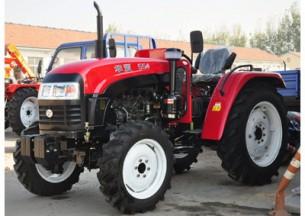 华夏554轮式拖拉机产品图图