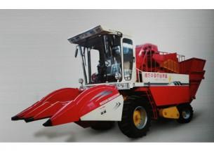 华夏4YZ-3自走式玉米收割机产品图图