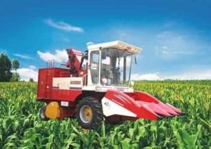 双箭王4YZ-3H自走式玉米联合收获机产品图图