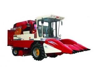 双箭王4YZ-3B自走式玉米收获机产品图图