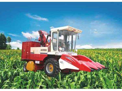 双箭王4YZ-3玉米收割机产品图图(1/1)