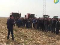 农机设备演示会现场视频