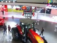 航拍爱科集团精彩亮相中国国际农机展
